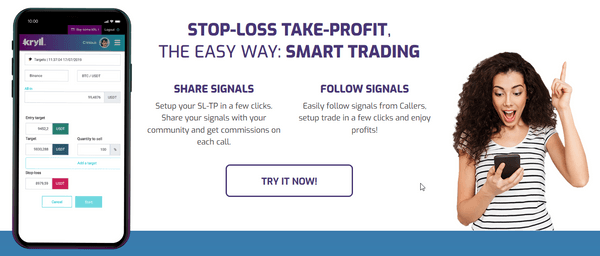 Kryll smart trading view