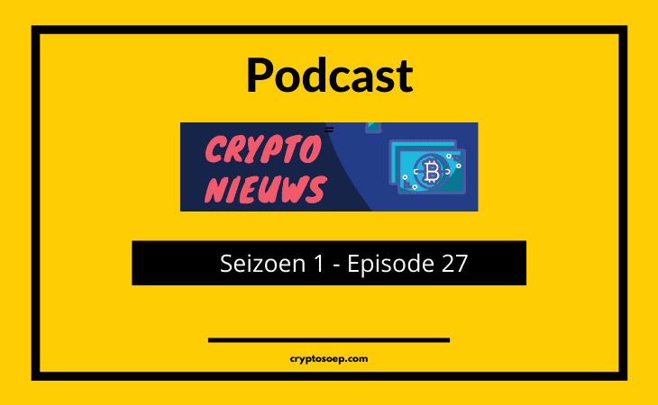 Podcast of Cryptosoep 27 - Crypto Genius