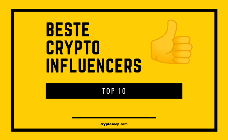 Beste Crypto Influencers ranked
